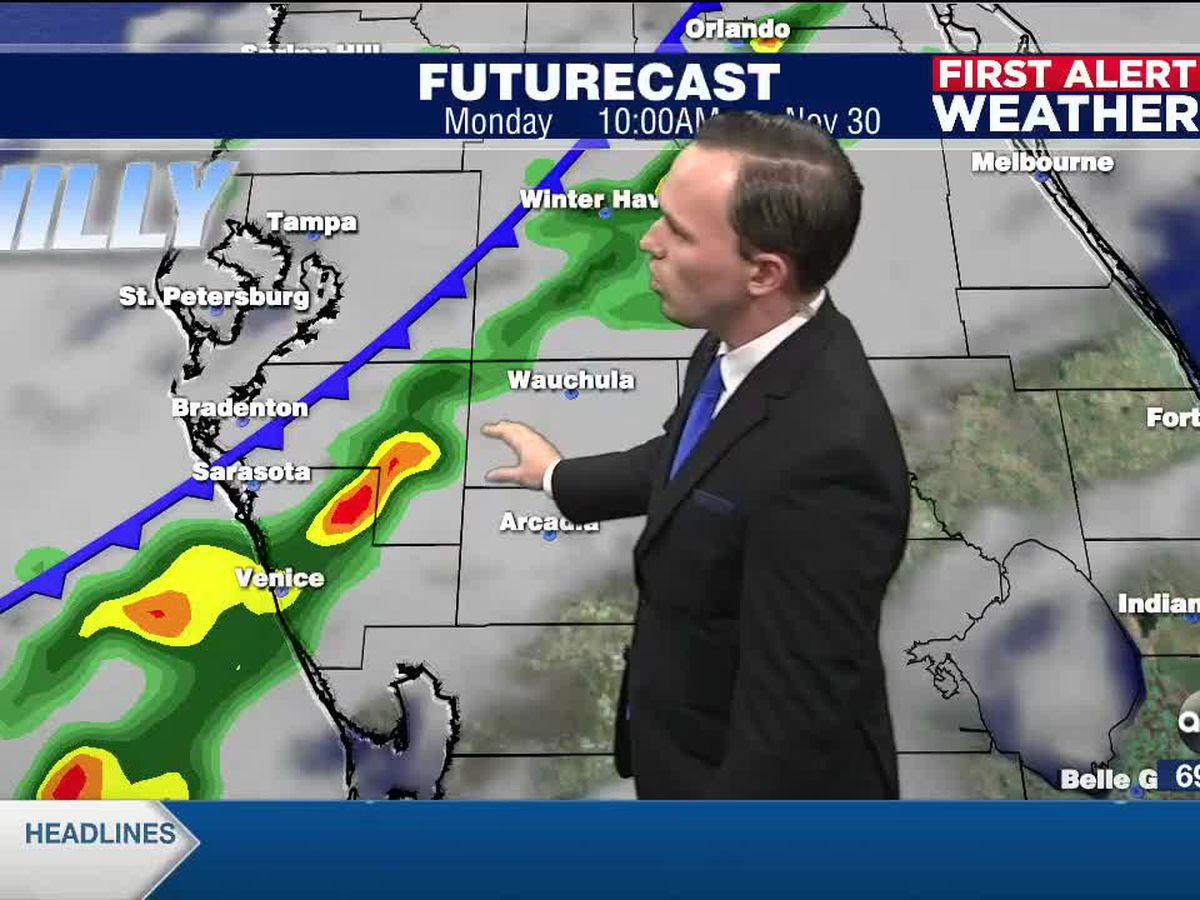 First Alert Weather: Saturday, November 28, 2020 - A warm Sunday with a blast of cold air arriving early next week