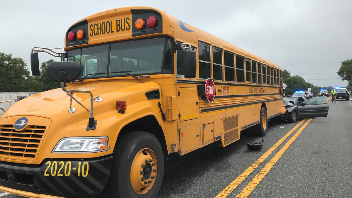 8 year old dies in crash involving a school bus in Citrus County