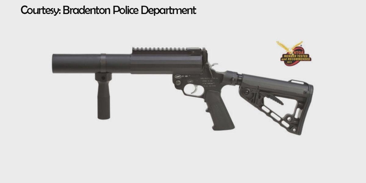 Bradenton Police Department adding a dozen 40 millimeter bean bag launchers to their force