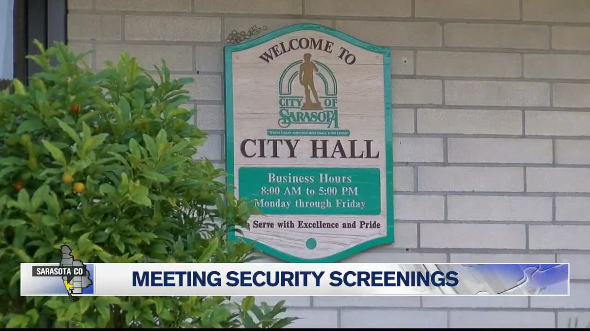Tighter Security for Sarasota City Hall Meetings In Place