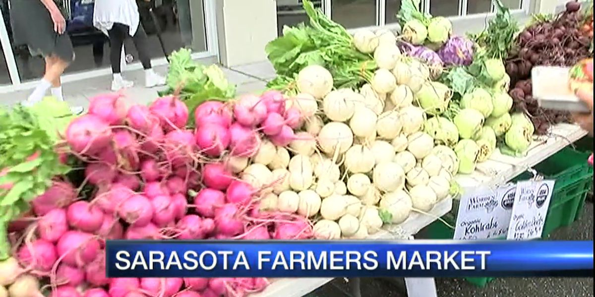 Sarasota Farmers Market ceases all operations due to coronavirus outbreak