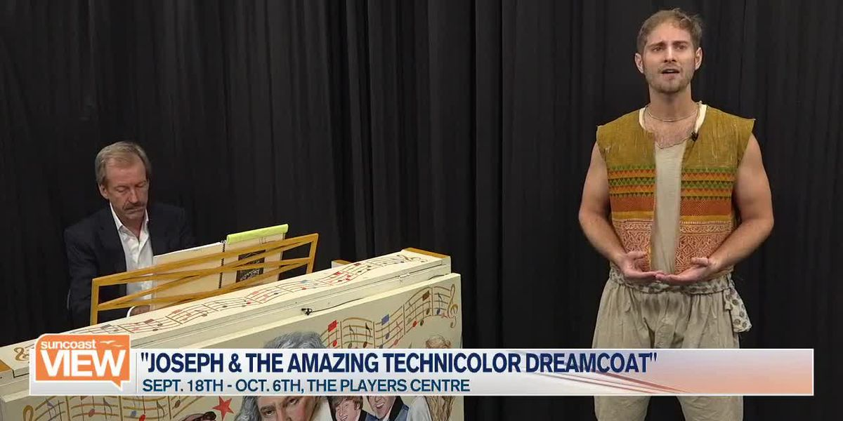 """Hear a Preview of """"Joseph & the Amazing Technicolor Dreamcoat"""" at The Players Centre! 
