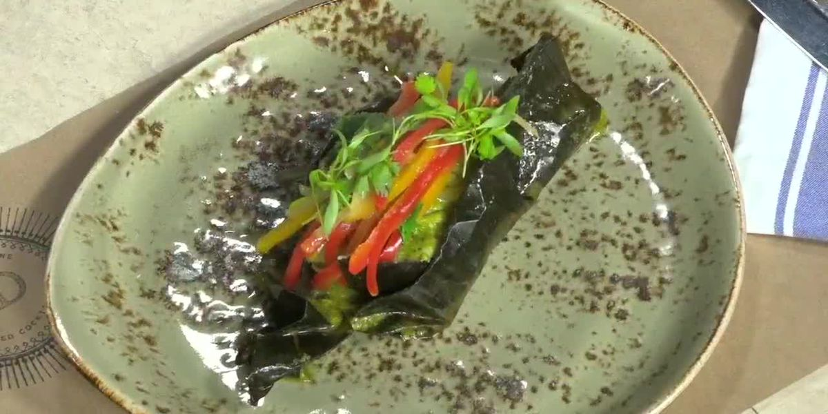Grouper Cooked in Banana Leaf | Chef Borelli