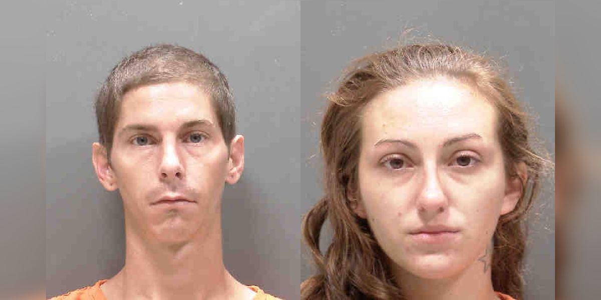 Deputies arrest husband, wife accused of cruising around in a pickup truck, burglarizing vehicles