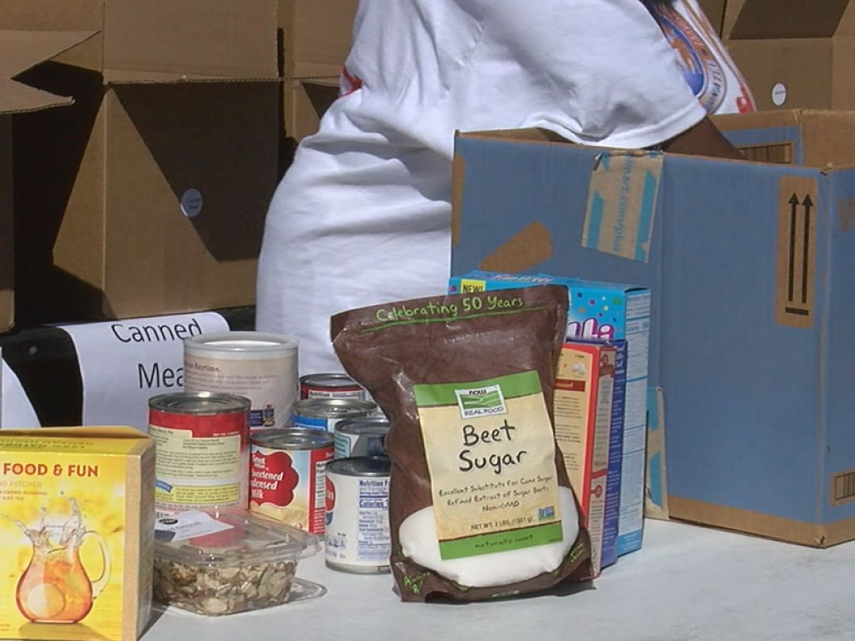 Manatee county food drive not only feeds humans, but also their furry friends