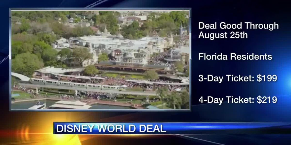 Disney World announces deal for Florida residents