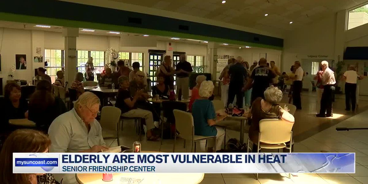 Local Sarasota senior center works to reduce heat-related deaths for the elderly