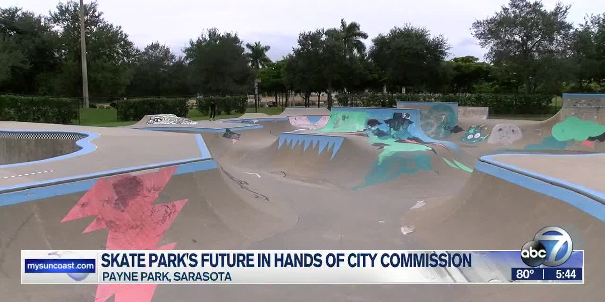 City of Sarasota trying to figure out how to operate Payne Park skate park