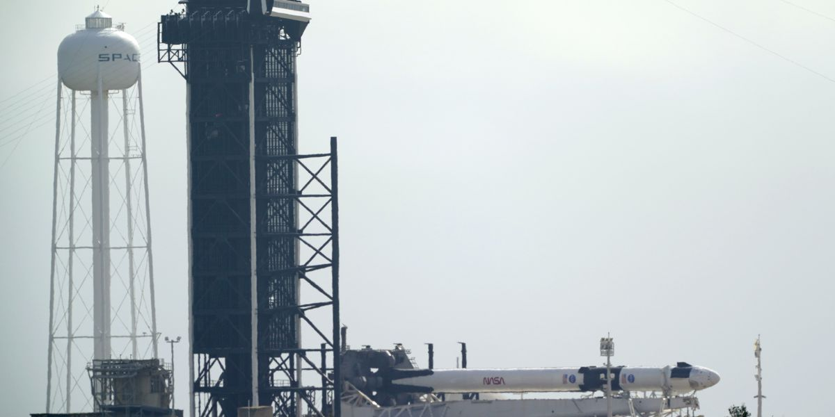 Weather better for historic SpaceX launch of NASA astronauts