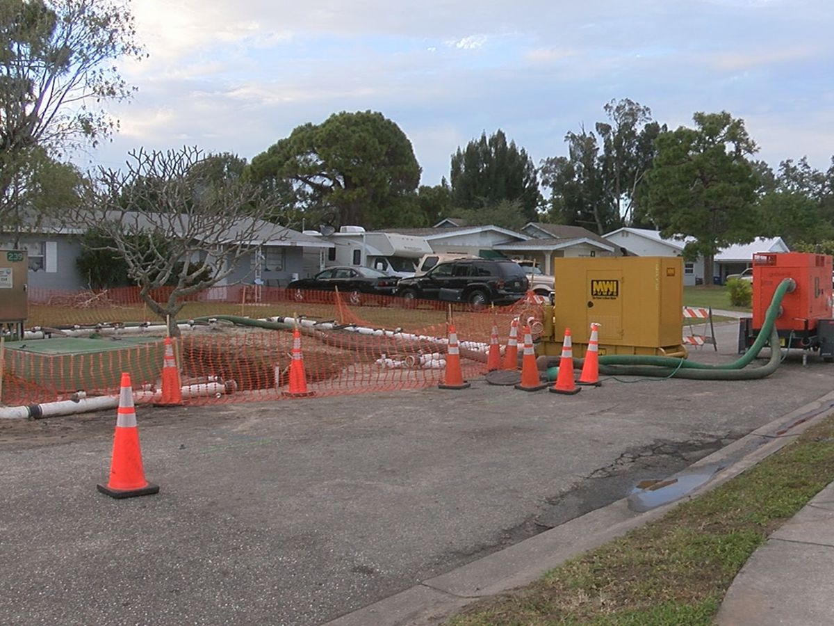 2000 gallons of sewage cleaned up from Bradenton neighborhood following spill