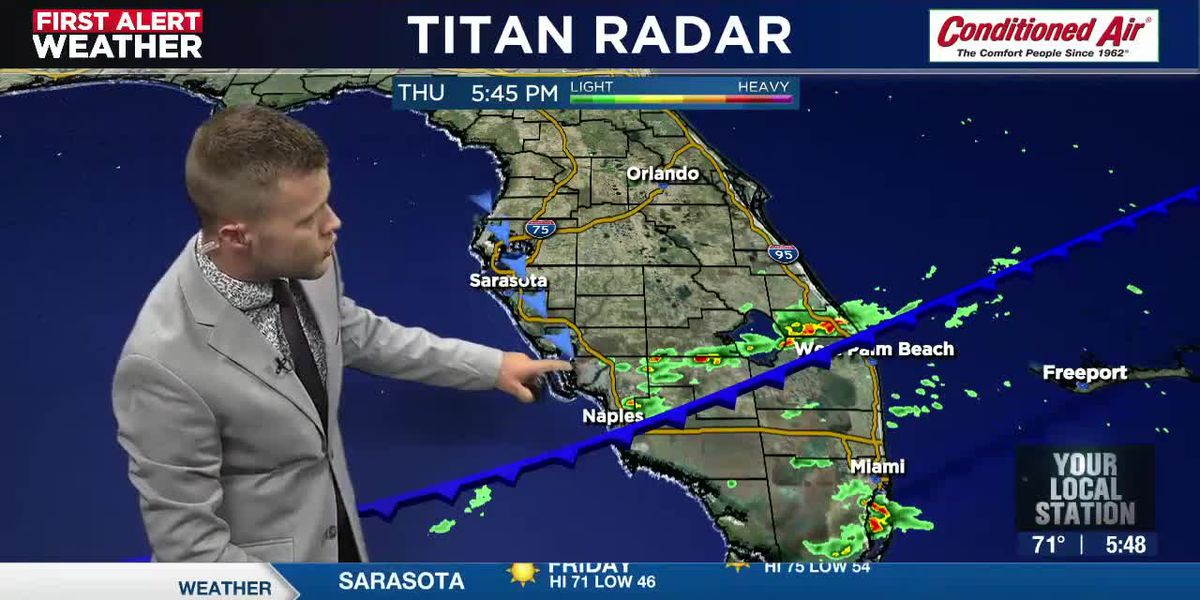 A cooldown for the Suncoast