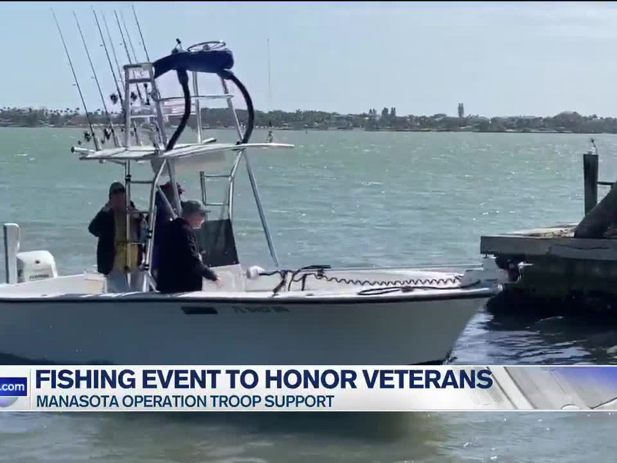 Manasota Operation Troop support hosts fishing event to honor veterans