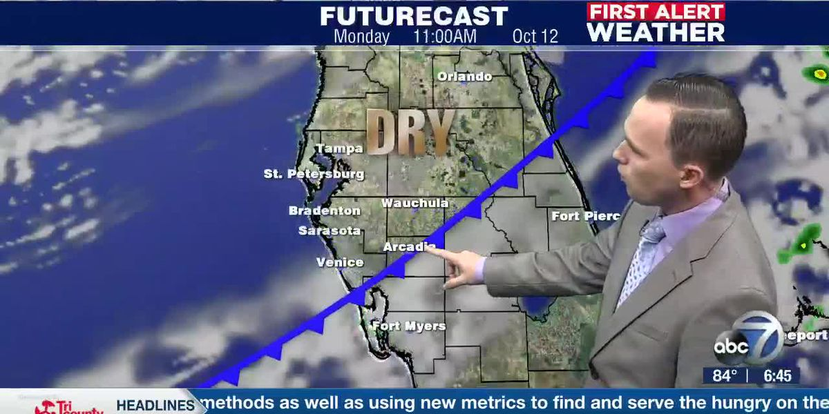 First Alert Weather: Sunday, October 11, 2020 - Good beach weather tomorrow as a dry air mass settles in