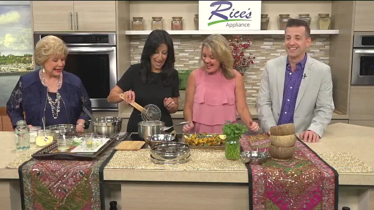 Watch Us Make Vegetable Pakora with Deepa from The Indian Table | Suncoast View