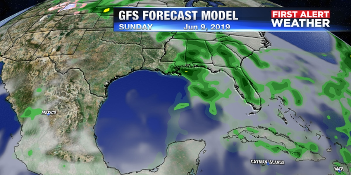 Rain chances increasing for Suncoast as we get closer to the weekend