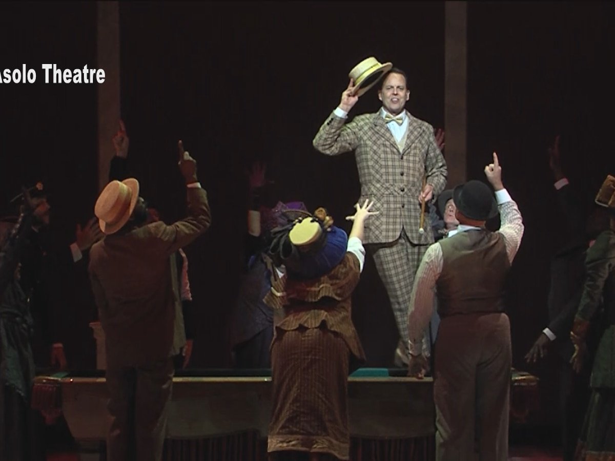 Opening night of The Music Man at Asolo Theatre in Sarasota