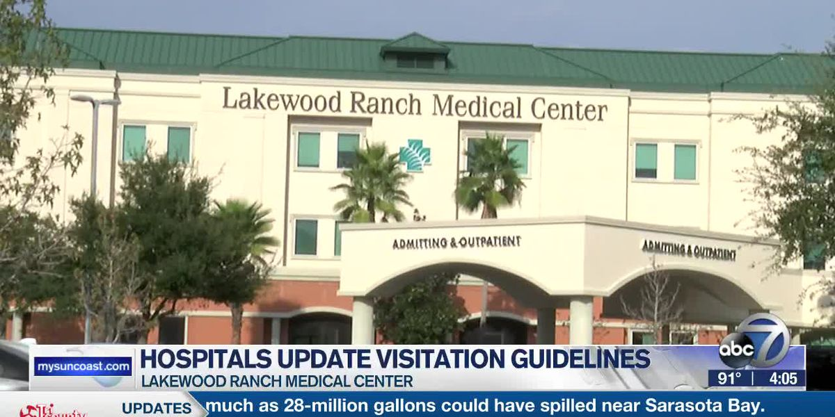 Lakewood Ranch Medical updates visitation rules for inpatient nursing units