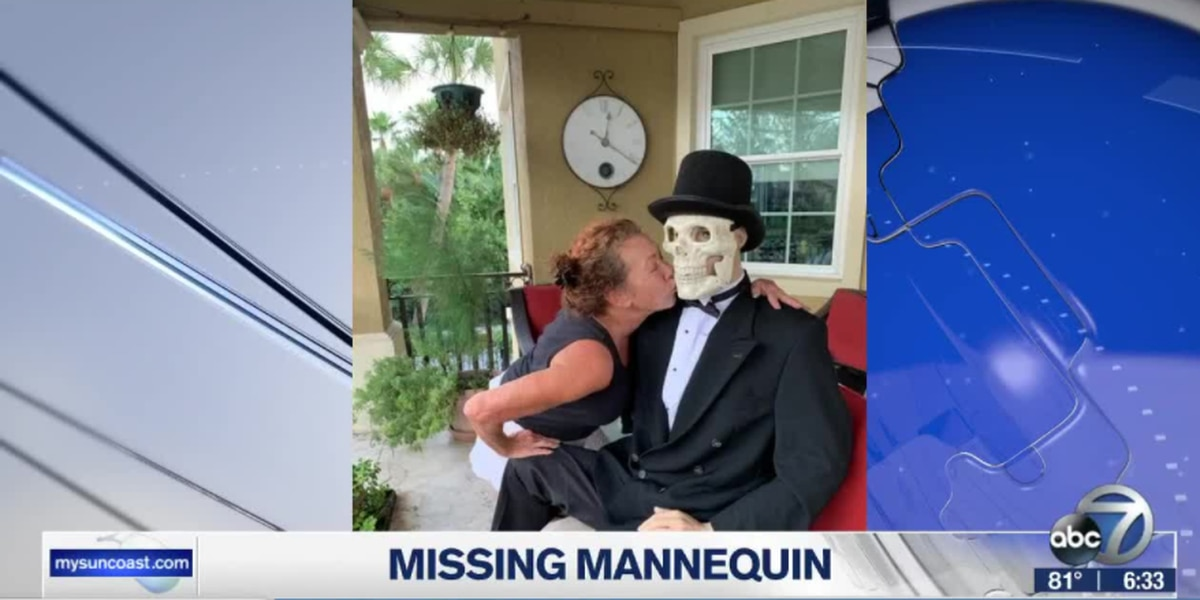 Holmes Beach, Fla. resident looking for stolen mannequin wearing late husband's jacket