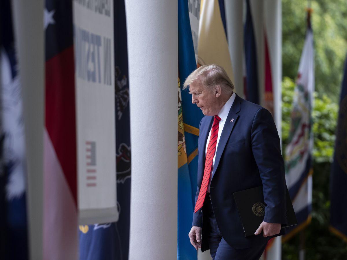 Trump strikes China over virus, Hong Kong and student visas