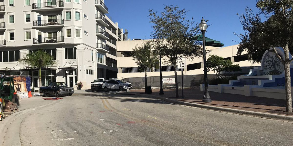An area of Downtown Sarasota will soon be more pedestrian-friendly