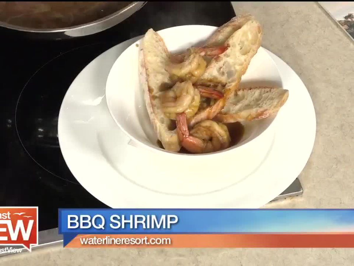 Nola BBQ Shrimp from Eliza Ann's Coastal Kitchen | Suncoast View