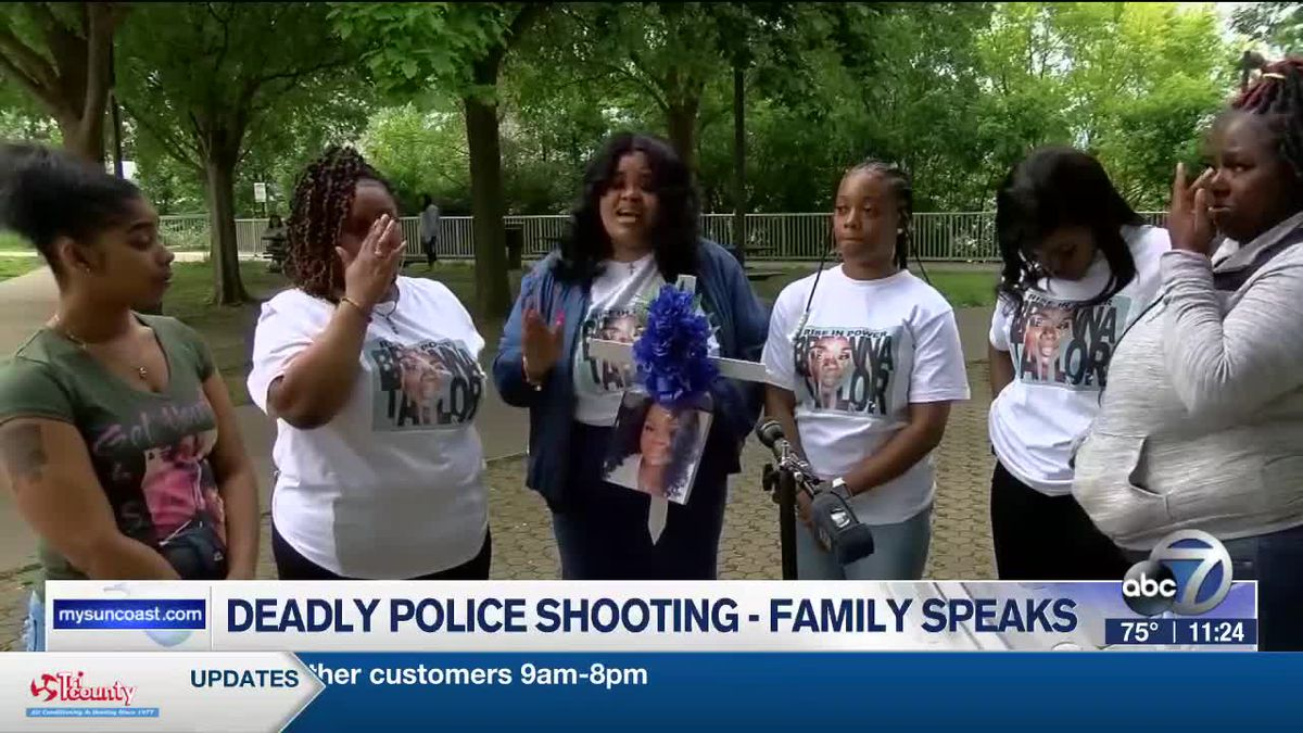Deadly Police Shooting - Family Speaks