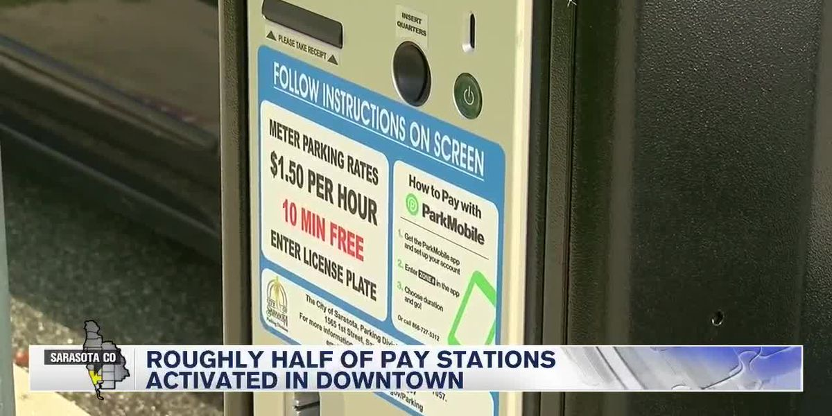 Roughly half of pay stations activated in Downtown