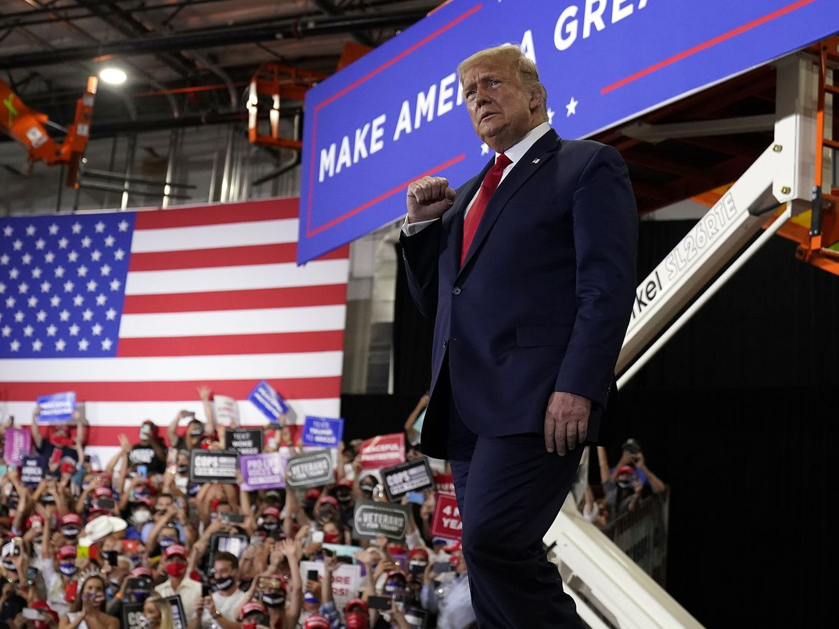 Trump and Biden hit unlikely battleground state of Minnesota
