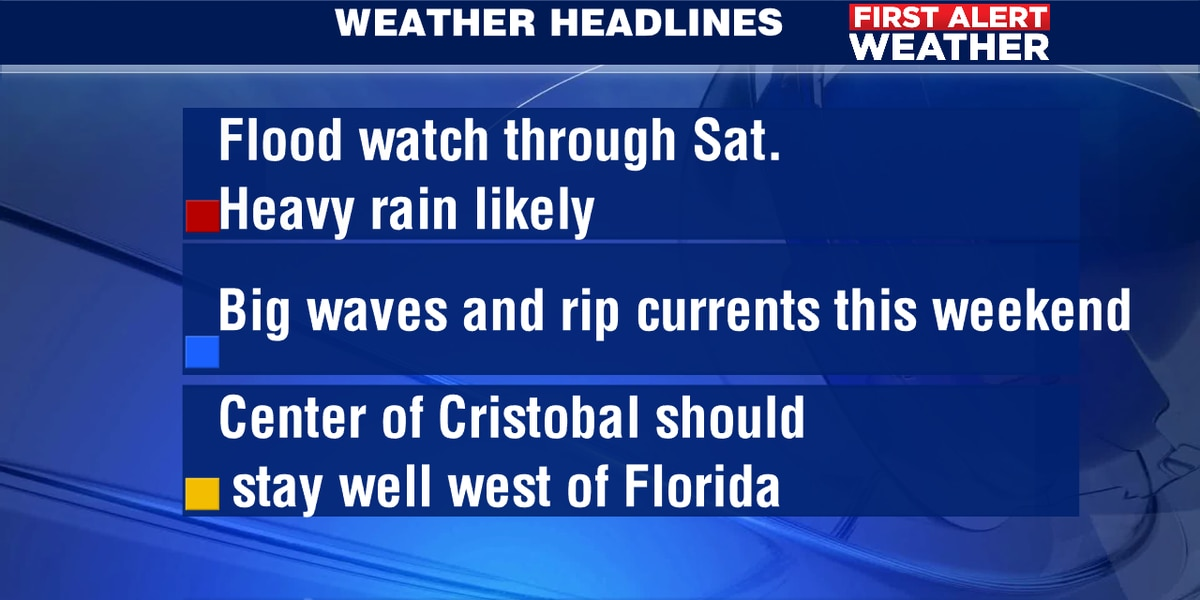 First Alert Weather Days Ahead
