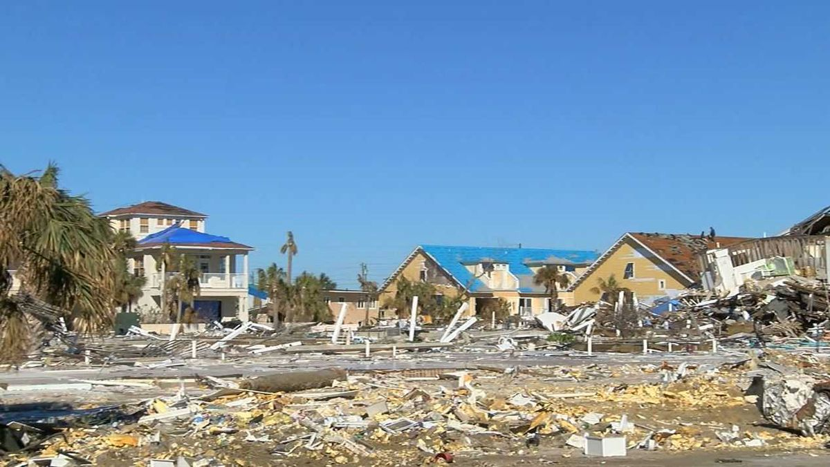 Mexico Beach, FL still in shambles, 3 months after ...