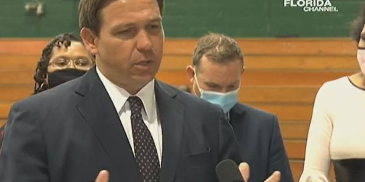 DeSantis: Johnson & Johnson vaccines coming, details on distribution for 50+ teachers and LEOs coming soon