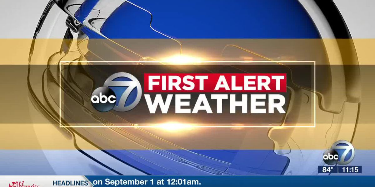 First Alert Weather - 11pm August 7, 2020