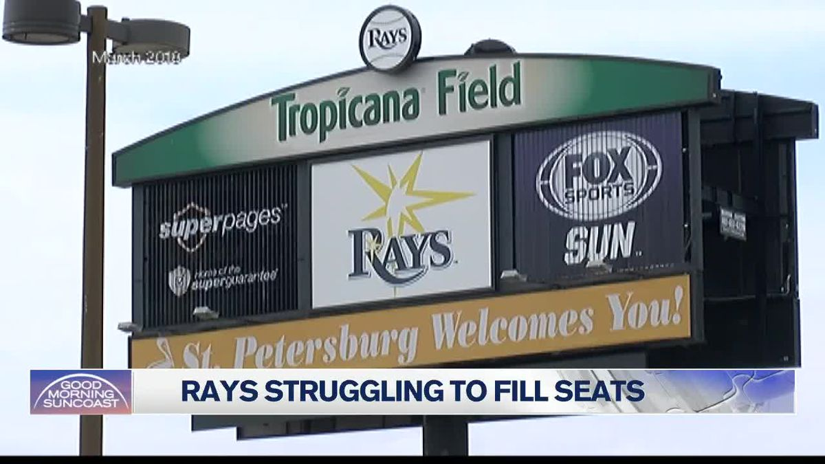Tampa Bay Rays Attendance Declines