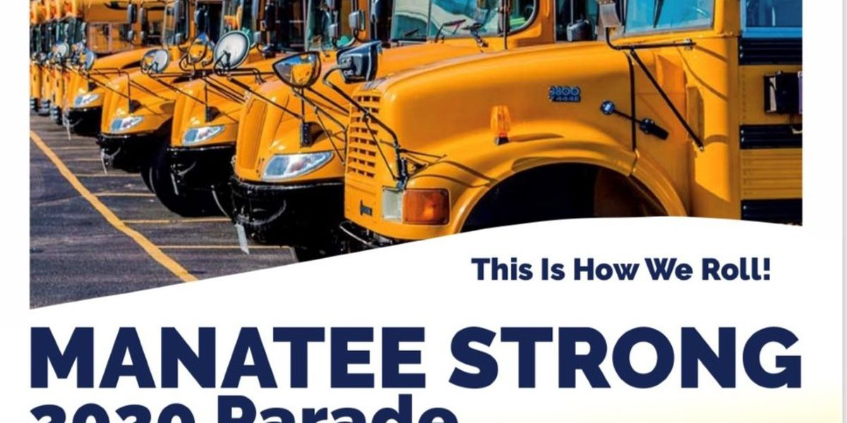 Manatee Strong: 'This is how we roll' parade celebrates end of school year