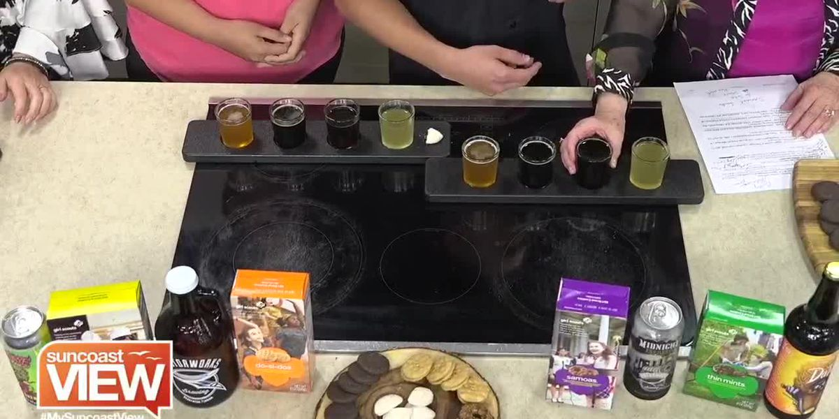Motorworks Beer Paired with Girl Scouts Cookies! | Suncoast View