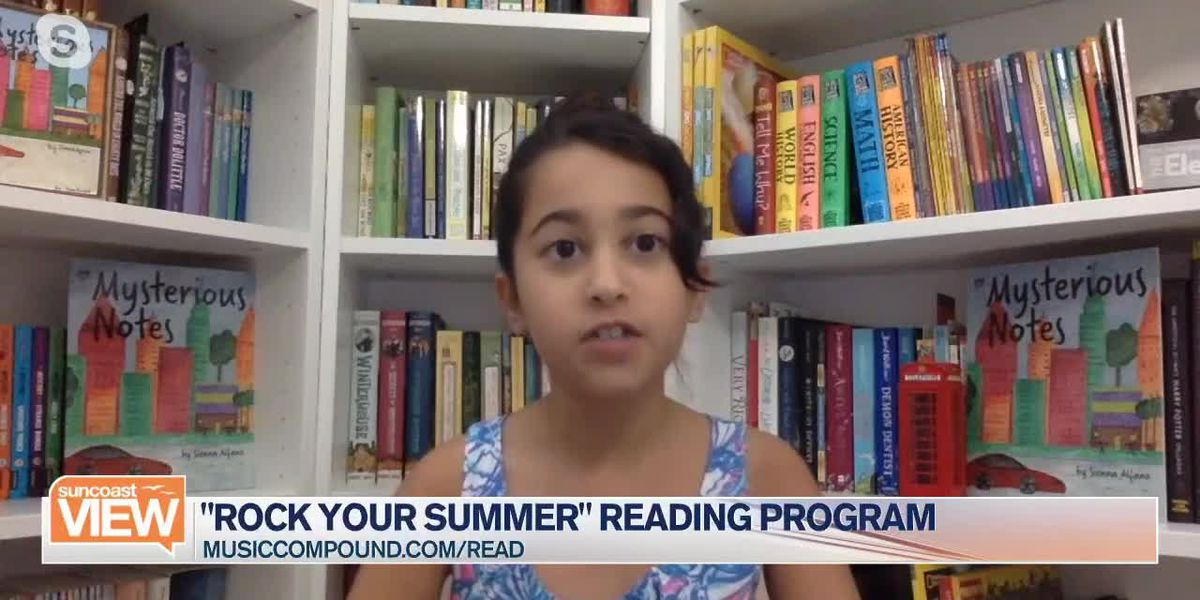 "Music Compound's ""Rock Your Summer"" reading program 