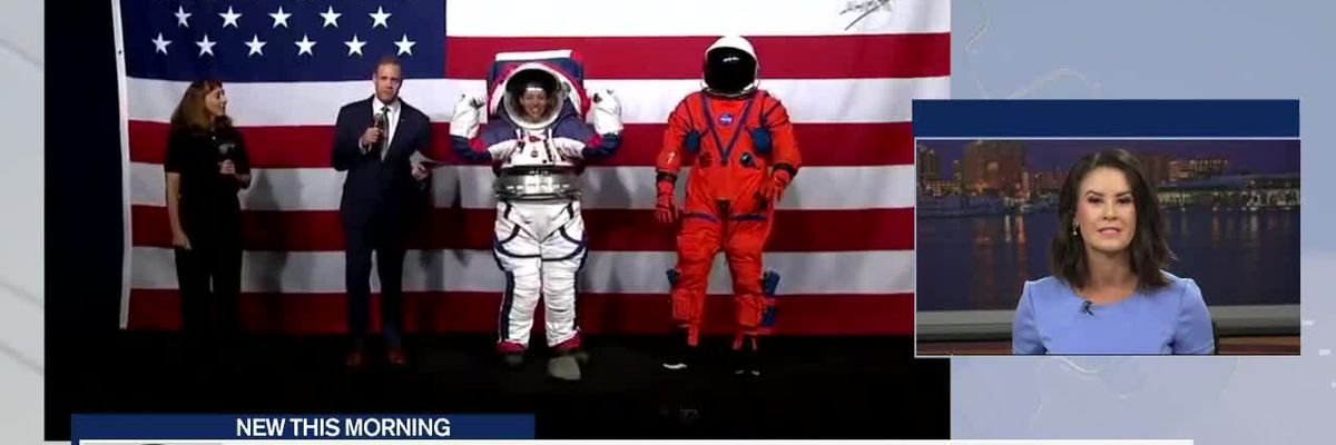 NASA shows new space suits for Mars exploration