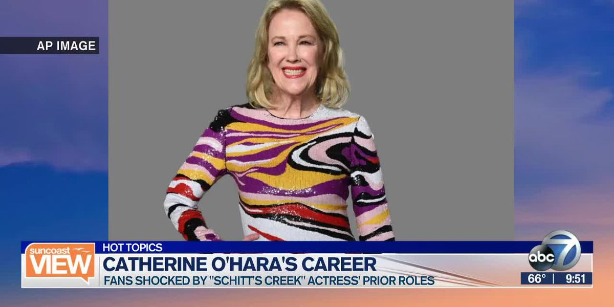 Actress Catherine O'Hara's prior roles are shocking fans | Suncoast View