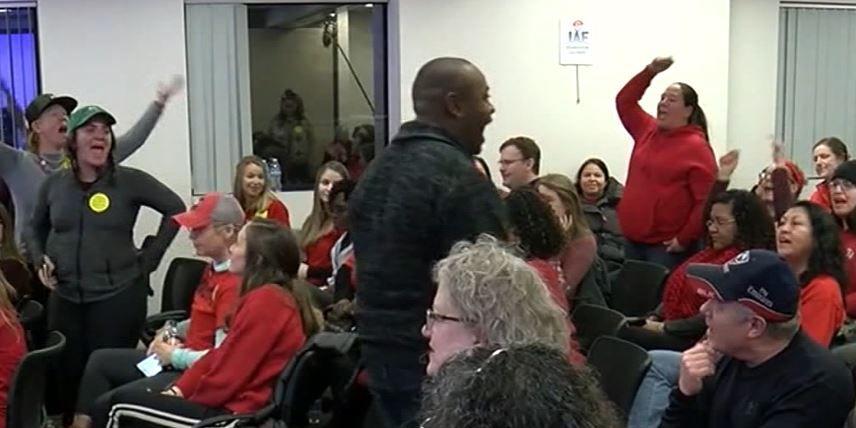 Denver teachers prepare to strike on Monday over pay