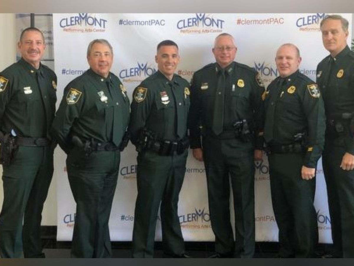 Supervisors Graduate Command Officers Development Course in Sarasota County