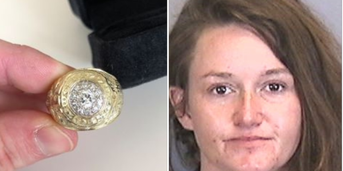 Bradenton woman charged in theft of heirloom from deceased man