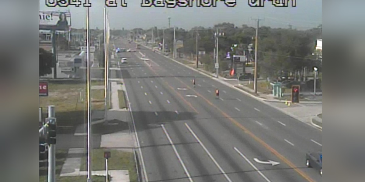 All north and southbound lanes have re-opened between U.S. 41 at Bayshore Gardens Parkway in Manatee County