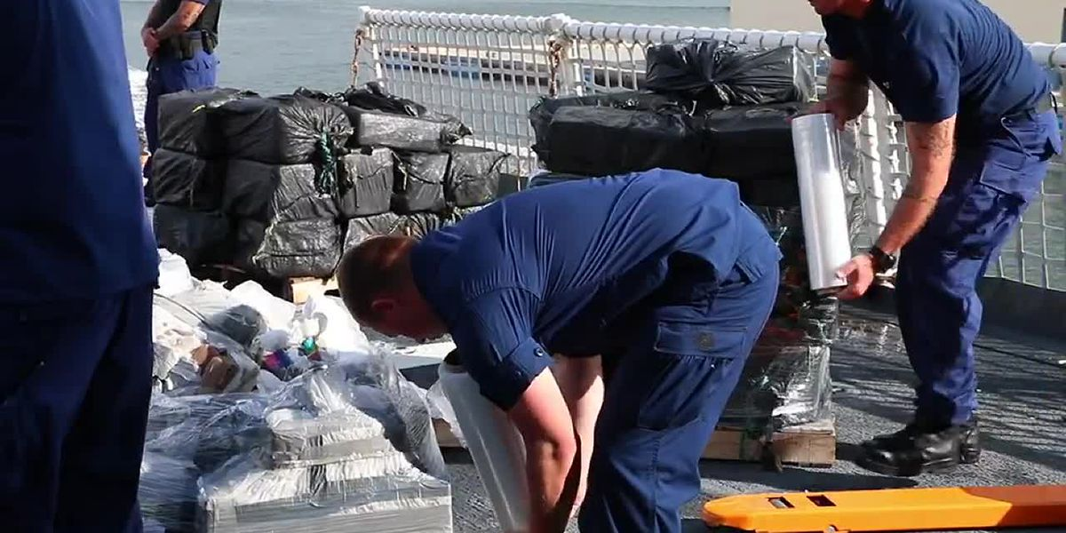 $500 million dollars worth of cocaine seized by the United States Coast Guard