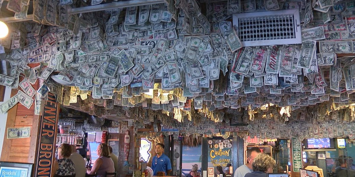 $14,000 from iconic Siesta Key Oyster Bar walls donated to Bahamas hurricane relief
