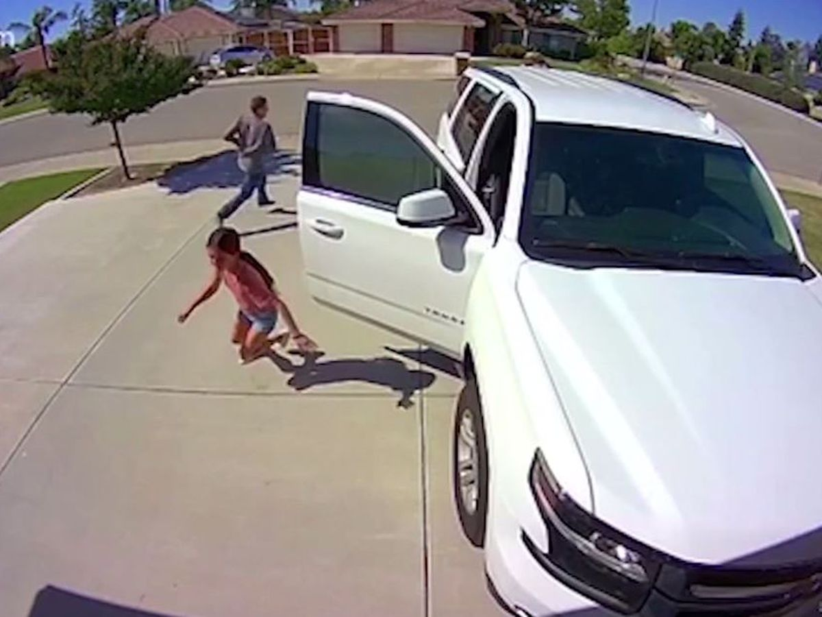 'Get out of here': Girl, 10, scares off would-be burglar from Calif. home
