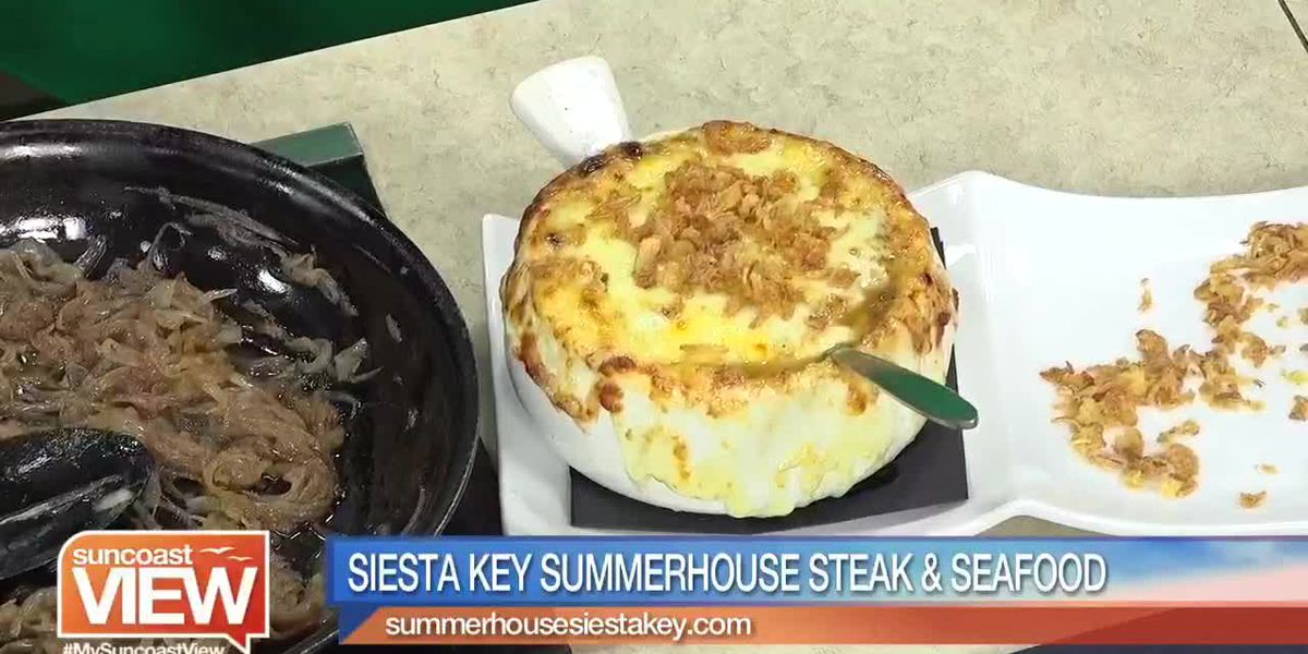 See How Siesta Key Summerhouse Makes French Onion Soup | Suncoast View