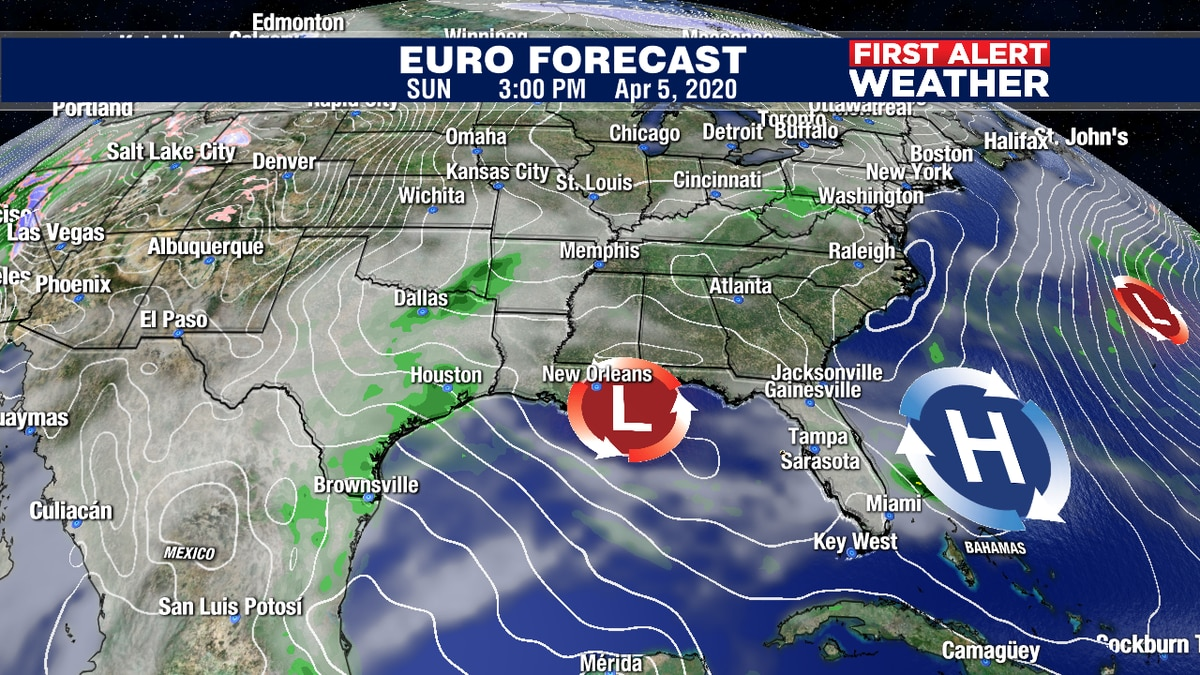 Storm system to bring some clouds on Sunday