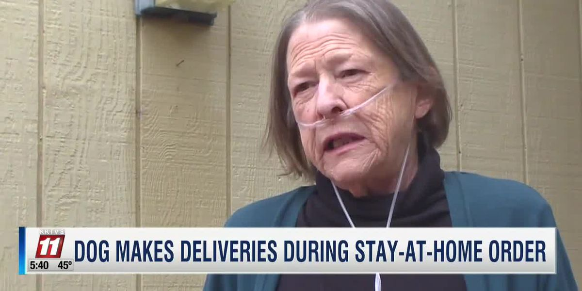 Dog makes deliveries to Colo. neighbor at risk from coronavirus