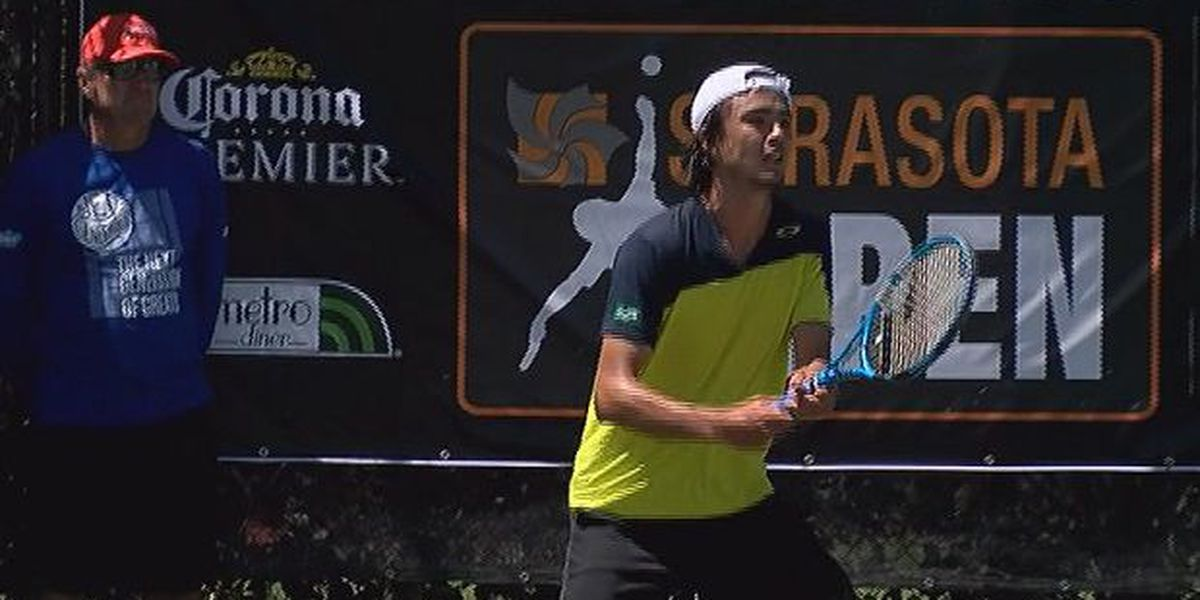Tennis rising stars in Sarasota for 11th Annual Sarasota Open