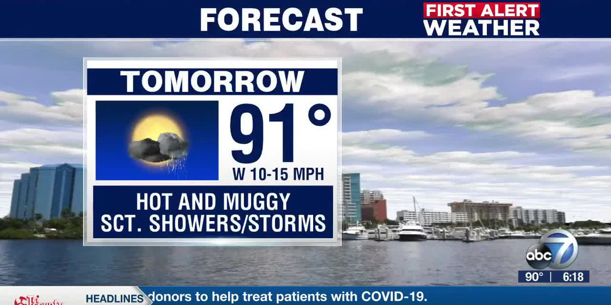 First Alert Weather - 6:00pm July 10, 2020